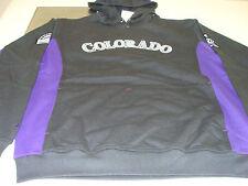 2012 Colorado Rockies MLB Baseball M Hoodie Sweatshirt Majestic Pullover NWT