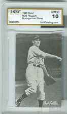 1947 Bond Bob Feller Graded GEM MT 10 Card