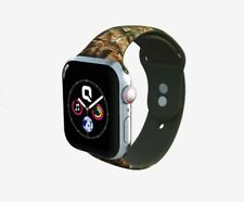 Apple watch 4 3 2 1 Qalo Real Tree Si 00006000 licone Watchband Replacement For