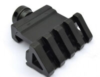 Angle 45 Degree Reflex Back Up Sight Mount Offset Picatinny Quick Screw Release