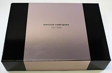 Narciso Rodriguez For Her 3 Pcs Eau De Toilette Gift Set For Women NEW IN BOX