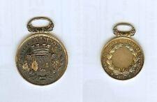 Médaille de prix - TOULOUSE 1877 grand concours musical poinçon vermeil ou.....