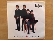 """THE BEATLES """"Real Love"""" NM/NM NEVER PLAYED 1996 7"""" single w/ Picture sleeve"""