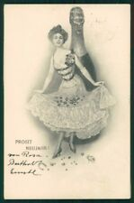 Viennoise Toasting Lady Theo Stroefer 280-6 postcard TC5092