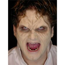 Mask Face Half For Vampire Skin Colour - Prosthetic Halloween Fancy Dress Evil