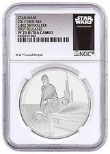 2017 Niue Star Wars Classics Skywalker 1 oz. Silver $2 NGC PF70 UC FR SKU45632