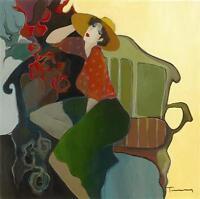 Modern Itzchak Tarkay Oil Painting art Repro Living Room Distinctive Flair AN171