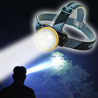 Odear Head Torch LED Rechargeable Headlamp Flashlight Headlight for Camping Ride