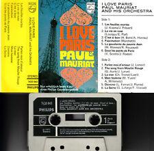 PAUL MAURIAT - I Love Paris >MC Musikkassette 1971 ,nur bei Philipsrecorderkauf