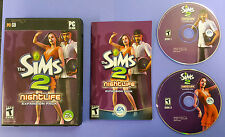 The Sims 2: Nightlife - Expansion Pack Complete w/Manual & Code (Free Shipping)