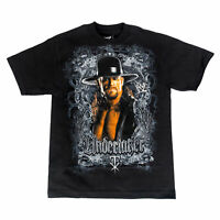 WWE The Undertaker Image Black T-shirt Adult