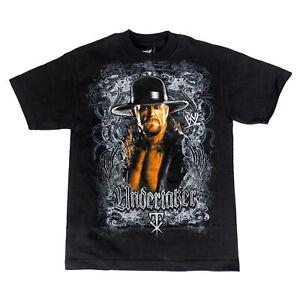 WWE The Undertaker Image Black T-shirt Adult