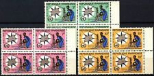 Rwanda 1964 SG#52-54 World Meterological Day MNH Blocks Set #D58743