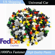 1000Pcs Vehicle Car Door Panel Fender Liner Bumper Retainer Clips Rivet Fastener