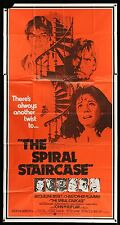Jacqueline Bisset THE SPIRAL STAIRCASE ORIGINAL 1975 3 SHEET Movie Poster