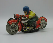 Shuco Mirakomot 1012 & WORKING w/ Key Motorcycle Wind-Up West Germany 1950s