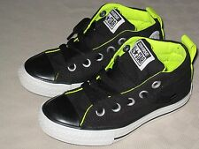 CONVERSE CHUCK TAYLOR ALL STAR STREET MID TOP BLACK YELLOW SHOES SIZE 13 EUC
