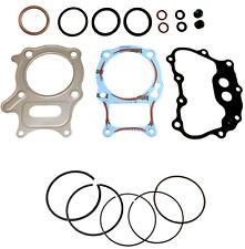 02-17 Honda 250 Recon Top End Gasket Kit & Standard Bore 68.50mm Piston Rings