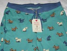 NWT MUNKI MUNKI Womens L Scottie Scottish Terrier Dogs Pants Jersey Pajama Pants