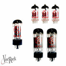 MARSHALL JTM45 2245 Amplifier JJ Valve SET 2x 6L6GC 3x ECC83S/ 12ax7 AND 1X GZ34