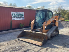 2016 Case Tr310 Compact Track Skid Steer Loader With Cab Joystick Controls 3100hrs