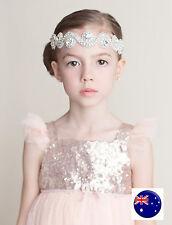 Girls Kid Baby Children Crystal Rhinestone Dance Elastic Hair Headband Band PROP