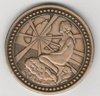 (T) Token - Greenville, MI - 1968 Danish Festival - 38 MM Bronze
