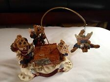Boyds Bears - #227801 Limited Edition The Flying Lesson Music/Motion Piece