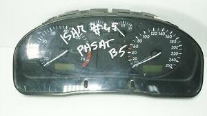 VW PASSAT INSTRUMENT CLUSTER SPEEDOMETER KMH 3B0919860A