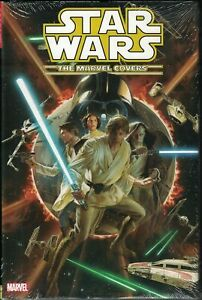 Star Wars The Marvel Covers HC Hardcover $34.99srp Campbell Ross Dodson SEALED