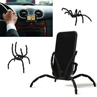 Car Spider Flexible Grip Holder Stand Mount for iPhone Samsung HTC LG GPS iPod