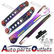 NEO CHORM Rear Lower Control Arm Subframe Brace Tie Bar For 1996-2000 Civic EK