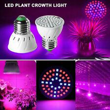 AC220V-240V E27 Led Grow Light Bulb Spotlight Lamp for Hydroponics Veg Flower