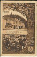 Ansichtskarte - Gasthof zum Godesberg - Aennchen-Haus und Godesburg - 1914 s/w