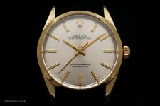 Vintage Rolex Oyster Perpetual Ref. 1024 Steel & Gold Case, Dial, & Hands