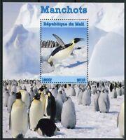 Mali 2018 MNH Penguins Emperor Penguin 1v M/S Manchots Bird Birds Stamps