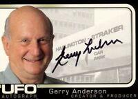 UFO Creator & Producer Gerry Anderson Autograph Card