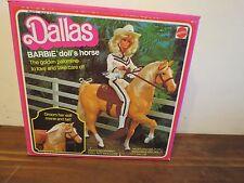 DALLAS BARBIE DOLL HORSE