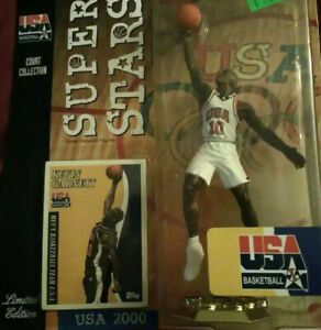 NBA Basketball Kevin Garnett Olympic USA 2000 Team Superstars Figure