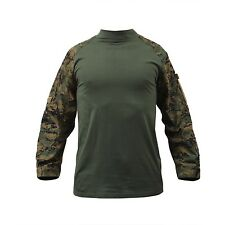Large US UCP ACU COMBAT Army USMC Woodland Digital MARPAT Shirt Hemd L Airsoft Funsport