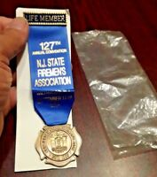 2004 Vintage New Jersey Assoc.127th. Convention Life Members Medallion on Ribbon