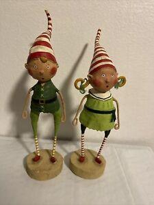 Lori Mitchell - Christmas - Tootsie And Tinker Twinkle Elves