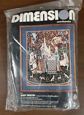 1979 Dimensions Needlepoint Cluny Tapestry #21017 NEW in Package