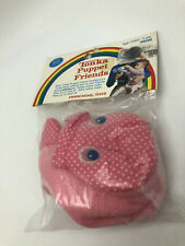 Vintage 1984 Tonka Puppet Friends Pink Infant Toy NOS
