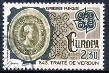 STAMP / TIMBRE FRANCE OBLITERE N° 2208 TRAITE DE VERDUN