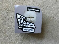 """Swatch BOX ONLY: 007 Villain Collection """" Blofeld's Cat"""""""