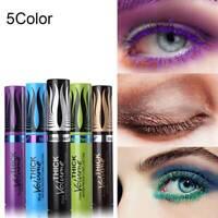 4D Curling Eyelash Extension Silk Fiber Lash Mascara Waterproof Colorful Thick