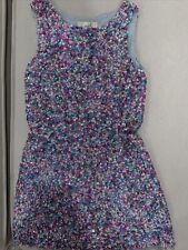 Peek Girls Dress Medium Size 8 Sequined Multicolored Sleeveless