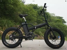 FAST 750watts 12AH Top Quality Fat Tire 48v Electric Bicycle Folding 20' E Bike