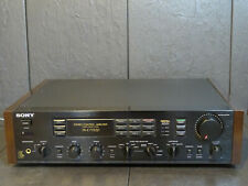 SONY TA-E77ESD PREAMPLIFIER VINTAGE EXCELLENT SERVICED RARE